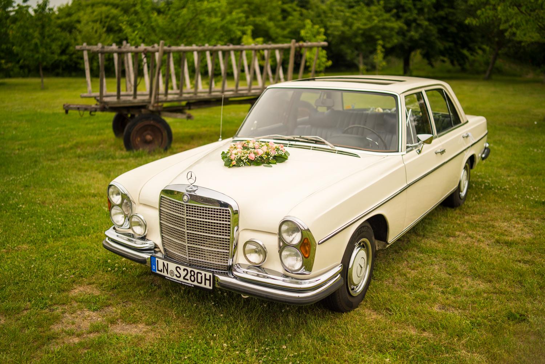 Hochzeitsauto Spreewald